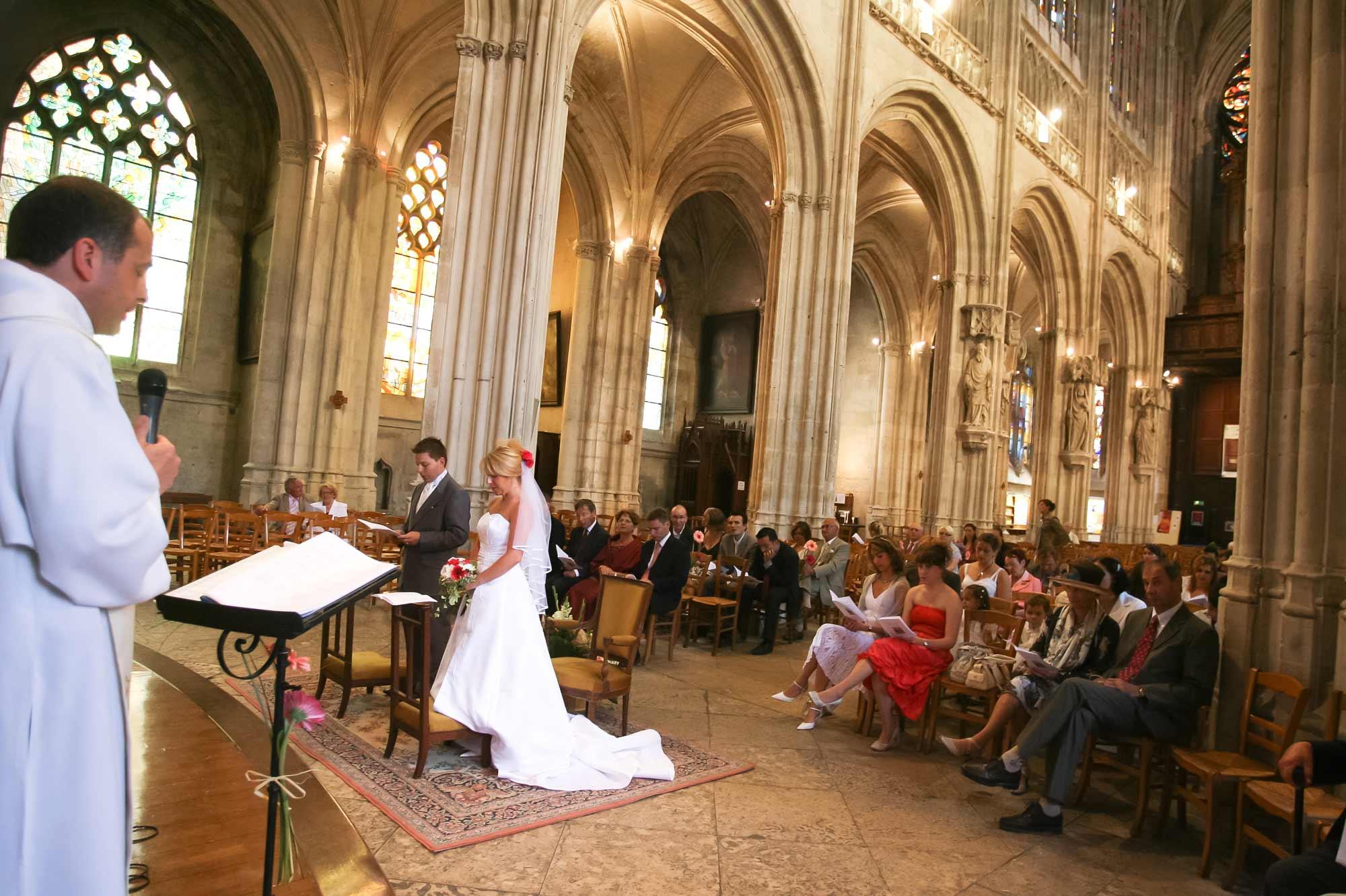 reportage église mariage paris