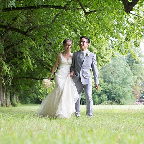 mariage a l'abbaye de vauluisant photo