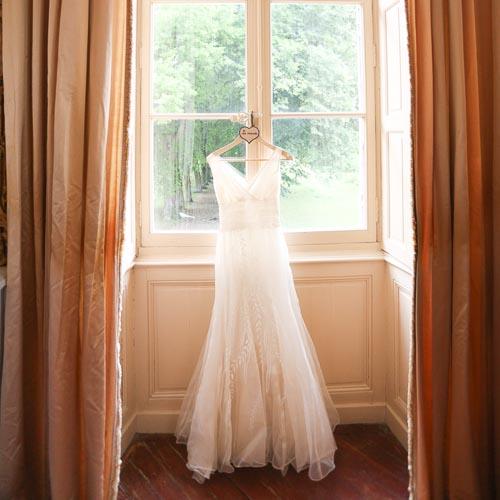 robe de mariage vauluisant
