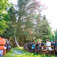 cérémonie laique en plein air