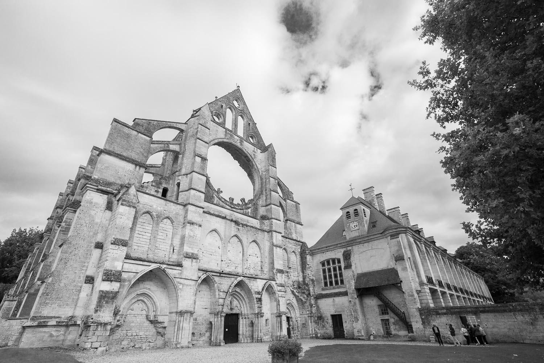 façade de l'abbaye longpont 60