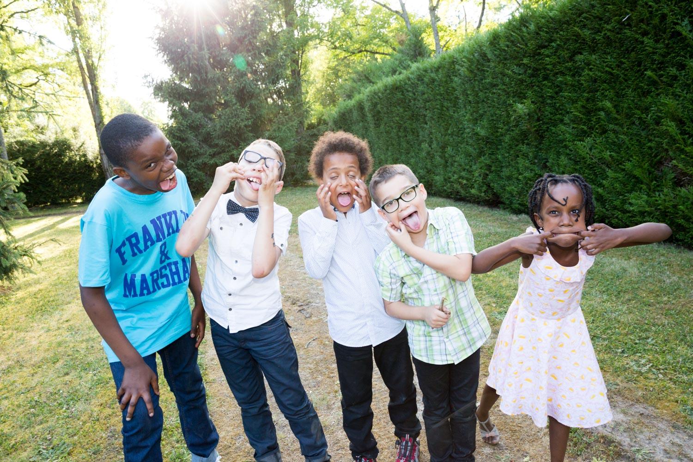 13-enfants grimaces