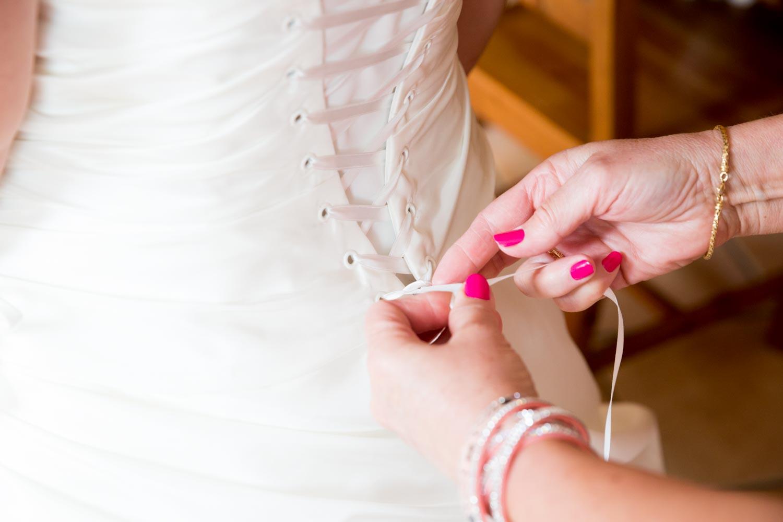 lassage de la robe
