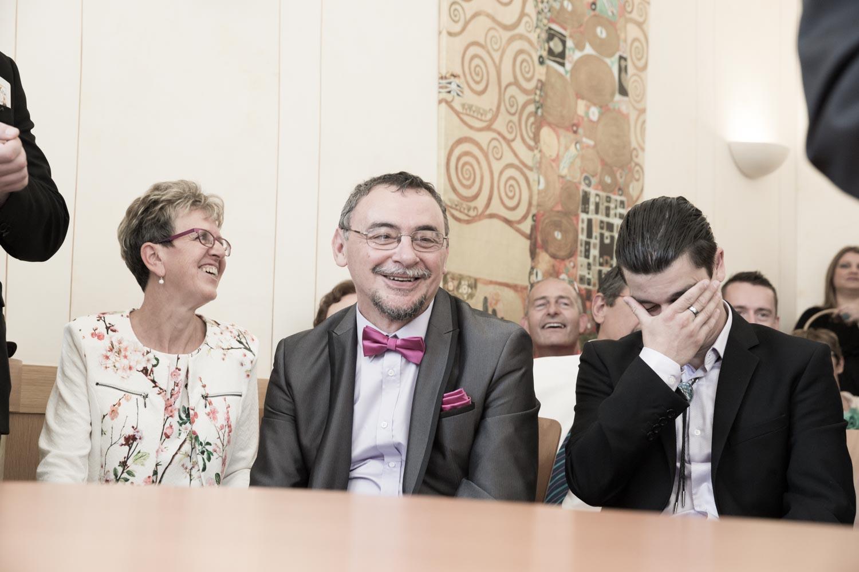 reaction cérémonie de mariage
